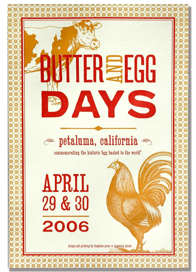 Butter + eggs