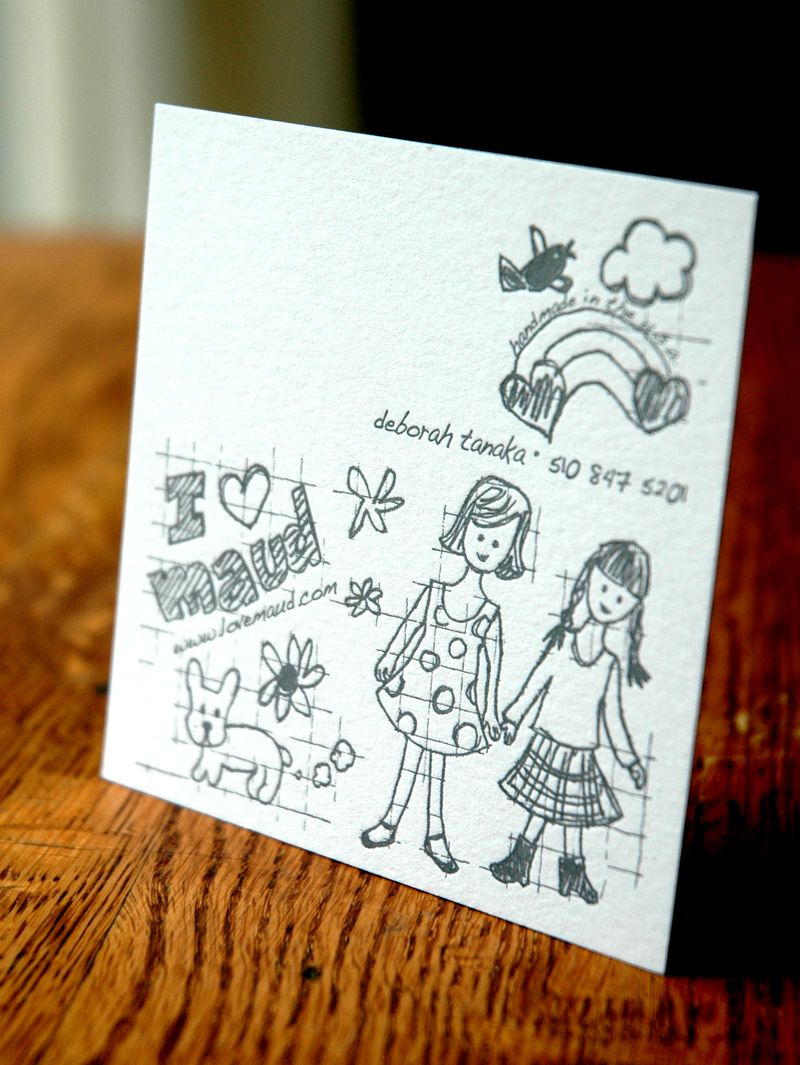 Maud business card
