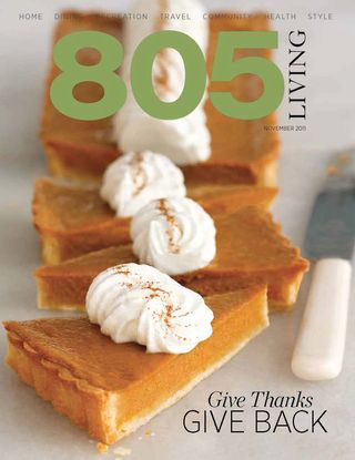 805 Living FINDS Nov 2011 cover